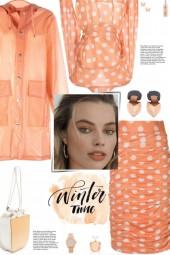 How to wear a Co-Ord Polka Dot Silk Skirt Set!