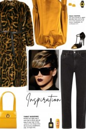 How to wear a Leopard Print Faux Fur Coat!