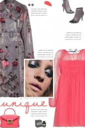 How to wear a Tulle Long Sleeve Mini Dress!