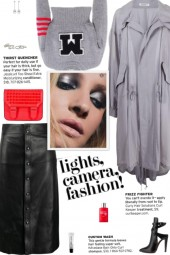 How to wear a Logo Patch Cropped Sweater!