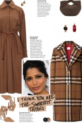 How to wear a Checked Notched Lapel Coat!