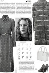 How to wear a Denim Logo Print Midi Dress!