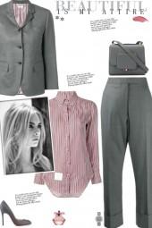 How to wear a Co-Ord Wool Twill Suit Set!