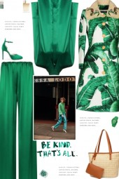 How to wear a Co-Ord Satin High Shine Pant Set!