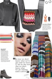 How to wear a Patchwork Multicolor Crop Sweater!