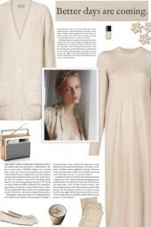 How to wear a Cashmere Knit Midi Dress!