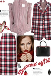 How to wear a Co-Ord Check Wool Suit Set!