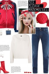 How to wear a Color Block Graphic Bomber Jacket!