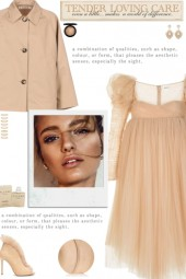 How to wear an Empire Neckline Tulle Midi Dress!