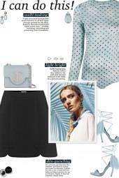 How to wear a Semi-Sheer Long Sleeve Bodysuit!