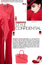 How to wear a Color Block Belted Waist Jumpsuit!