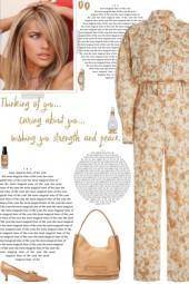 How to wear a Floral Linen-Blend Jumpsuit!