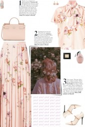 How to wear a Co-Ord Pleated Silk Skirt Set!
