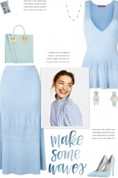 How to wear a Co-Ord Ribbed Viscose Skirt Set!