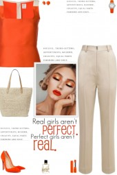 How to wear a Color Block Fitted Vest Top!