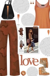 How to wear an Oversized Military Cargo Pants!