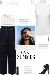 How to wear a Contrast Trimmed Culottes!