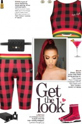 How to wear a Co-Ord Check Pattern Activewear Set!