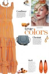 How to wear a Striped Ruffle Maxi Dress!
