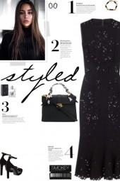 How to wear a Laser-Cut Sleeveless Midi Dress!