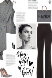 How to wear a Wool-Blend Wrap Around Top!