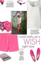 How to wear Elasticated Drawstring Shorts!