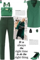 How to wear Wool-Blend Check Tweed Pants!