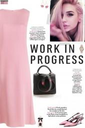 How to wear a Pleated Sleevelesss Midi Dress!