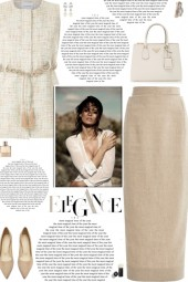 How to wear a Knit Rope Belted Top!