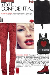 How to wear Graphic Print Skinny Jeans!