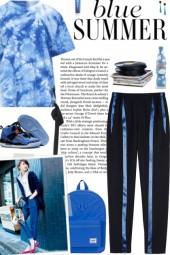 How to wear Metallic Stripe Color Block Pants!