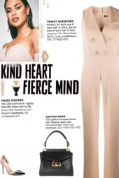 How to wear a Sleeveless Wool Jumpsuit!