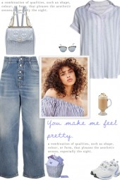 How to wear a Relaxed Fit Striped Shirt!
