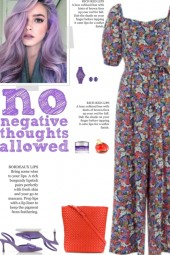 How to wear a Floral Multicolor Jumpsuit!