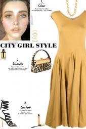 How to wear a Godet Design Sleeveless Dress!
