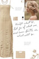 How to wear a Fringed Banded Long Dress!