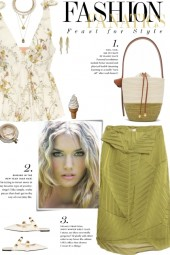 How to wear a Shoulder Tied Sleeveless Top!