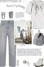 How to wear a Cotton Tie-Neck Logo T-shirt!