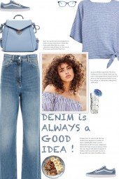 How to wear a Relaxed Fit Striped T-Shirt!