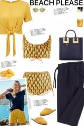 How to wear a Co-Ord Geometric Print Bikini Set!