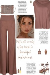 How to wear a Co-Ord Relaxed Viscose Pant Set!
