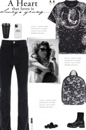 How to wear a Cotton Print   Embellished T-Shirt!