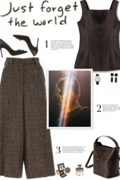 How to wear Houndstooth Pattern Cullottes!