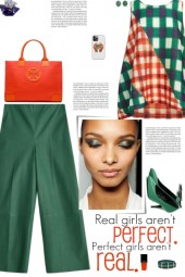 How to wear a Checked Multicolor Top!
