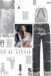 How to wear High Waist Tie-Dye Jeans!
