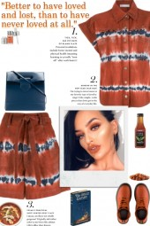 How to wear a Co-Ord Tie-Dye Loose Fit Set!