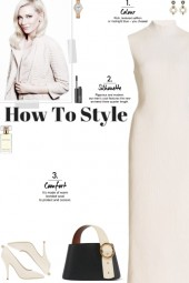 How to wear a Mock High Neck Ribbed Dress!