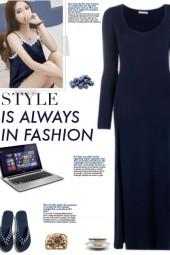 How to wear a Long Sleeve Split Nightdress!