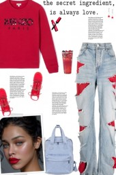 How to wear Distressed Ripped Denim Jeans!