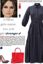 How to wear a Cheval Cashmere Shirtdress!